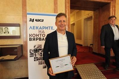Светилото проф. Горчев и пулмологът д-р Симидчиев влизат в политиката (Обзор)