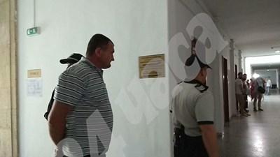 Украинецът Игор Труховский остава в ареста. Снимка:Елена Фотева СНИМКА: 24 часа