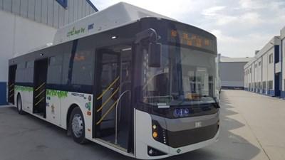 60 нови автобуса на природен газ за градския транспорт пристигат в София.