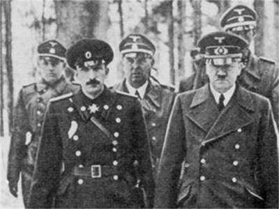 Борис III и Адолф Хитлер СНИМКИ: АРХИВ