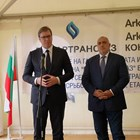 Александър Вучич и Бойко Борисов СНИМКА: Правителствена информационна служба