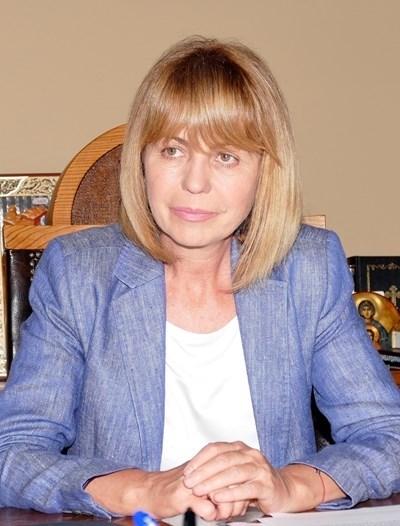 Кметът на Столичната община Йорданка Фандъкова свика заседание на софийския оперативен щаб за ограничаване на разпространението на КОВИД 19.  СНИМКА: Архив
