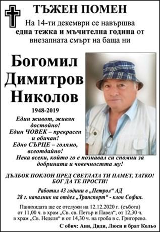 Богомил Николов