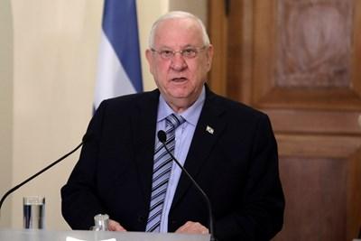 Израелският президент Реувен Ривлин Снимка: Ройтерс