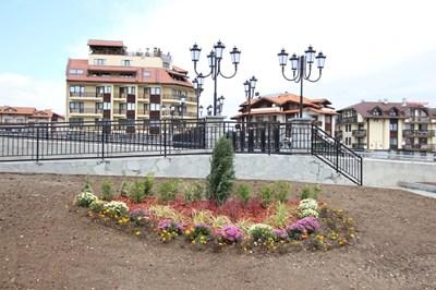 Новият мост над р. Глазне в Банско.СНИМКИ: ОБЩИНА БАНСКО