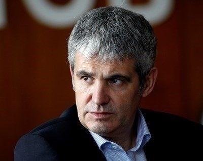 Лидерът на КНСБ Пламен Димитров СНИМКА: Архив