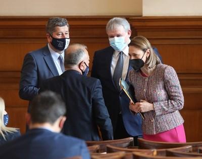 """Партията на Слави Трифонов """"Има такъв народ"""" ще опита да направи кабинет в следващия парламент."""
