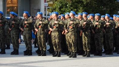 С военна клетва бе отбелязан бойният празник на гарнизон Пловдив Снимки: Министерство на отбраната