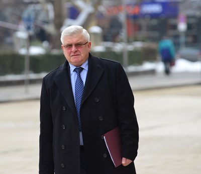 Здравният министър Кирил Ананиев обяви, че от юли даряваната кръв ще се изследва с NAT система. СНИМКА: Йордан Симeонов