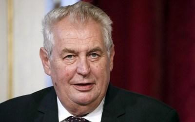 Чешкият президент Милош Земан СНИМКА: Ройтерс