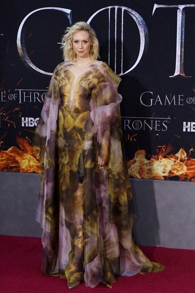 """Актрисата Гуендолин Кристи, която играе ролята на Бриен Тарт в сериала """"Игра на тронове"""", е висока 1,92 м и има големи шансове да живее дълго.  СНИМКА: РОЙТЕРС"""