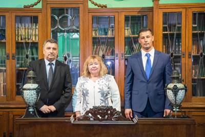 Ректорите на трите икономически вуза подписаха меморандум за сътрудничество