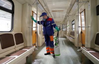 Москва с допълнителни ограничения заради коронавируса СНИМКА: Ройтерс