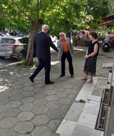 Главният прокурор на Република България Иван Гешев посети две териториални отделения. Снимка прокуратура на Република България