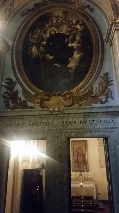 Мястото, където е живял един от най-важните апостоли на християнството - Св. Павел, бил е задържан тук, а после обезглавен. Снимки Авторът