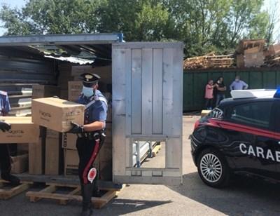 Част от откраднатите материали бяха върнати от България в Тоскана през юли 2020 г. КАДЪР: youtube