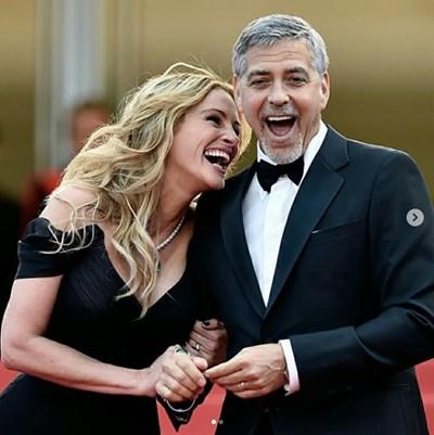 Джулия Робъртс и Джордж Клуни СНИМКА: Инстаграм/juliaroberrts