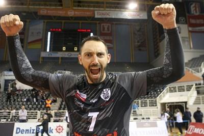 Учиков ликува след първата победа на ПАОК в Шампионската лига.