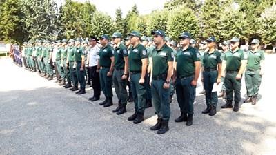 82-ма бъдещи гранични полицаи положиха клетва в Пазарджик