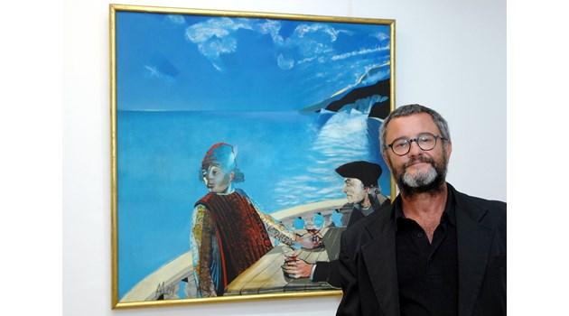Андрей Даниел - вълшебникът учител по живопис и живот