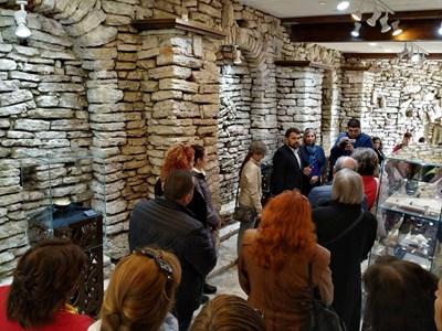 Откриването на изложбата СНИМКА: Дияна Райнова