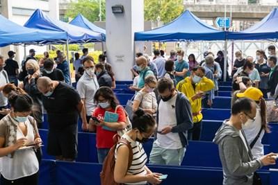 Над 1 милион души са ваксинирани до момента срещу COVID-19 в Хонконг