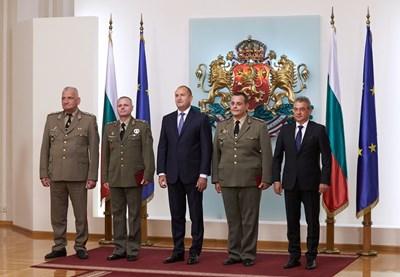 СНИМКИ: прессекретариатът на президентството