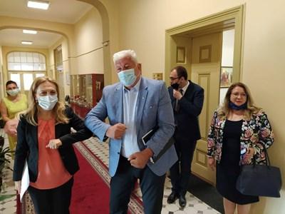 Марияна Николова и Здравко Димитров набелязаха мерки за спасяване на туризма в Пловдив. Снимка: Авторът