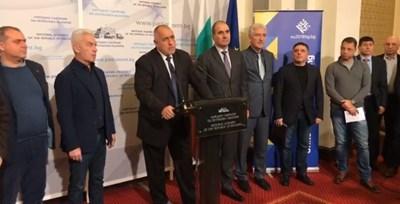 Борисов направи изявление на извънреден брифинг в парламента Кадър: Фейсбук
