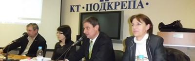"""Снимка: Синдикат """"Образование"""" към КТ """"Подкрепа"""""""