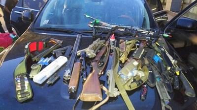 Част от оръжието, открито в колата на Кевин Бахли