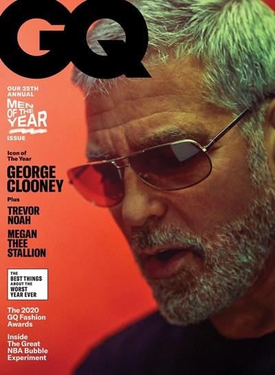 Джордж Клуни на корицата на Джи Кю