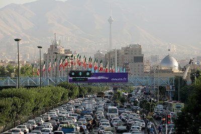 Кадър от Техеран, Иран: Ройтерс