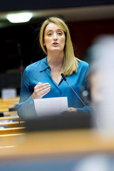 РОБЕРТА МЕЦОЛА   СНИМКА: Европейски парламент