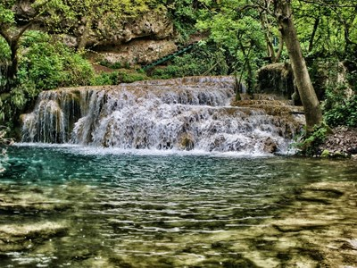Крушунските водопади край Ловеч Снимка: Пиксабей