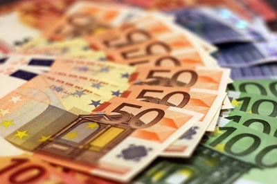 Евро. Снимката е илюстративна