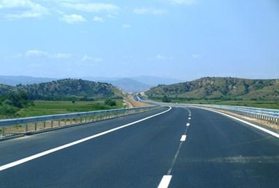 """И последният участък на магистрала """"Струма"""" ще се достои с еврофинансиране."""