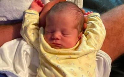 Това е бебето Оливиер Снимка: Фейсбук