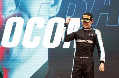 Естебан Окон е 14-ият французън с победа във Формула 1. Снимка: Ройтерс