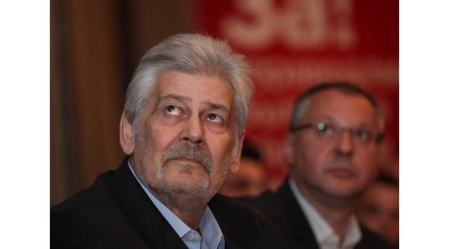 Стефан Данаилов в най-тежките политически мигове