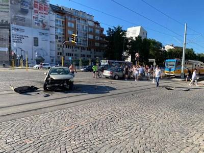 СНИМКА: Никола Димитров/ Катастрофи в София