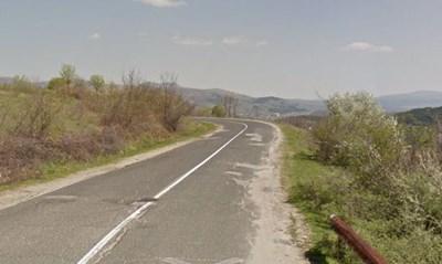 Пътят Момчилград - Ивайловград Снимка: Google street view