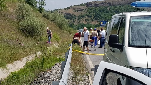 Убитият на пътя за Гърция велосипедист бил глухоням. Виновният шофьор го издърпал в канавката, а колелото му изхвърлил в ливада