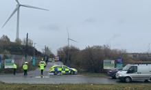 Взрив в склад в Англия, множество ранени (Видео)