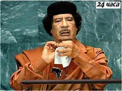 Муамар Кадафи Снимка: Архив