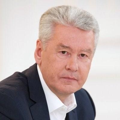 Сергей Собянин СНИМКА: Туитър/Сергей Собянин