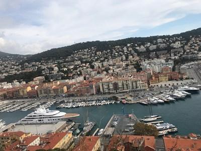 Гледка към старото пристанище на Ница  СНИМКИ: АВТОРЪТ
