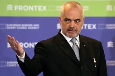 Еди Рама СНИМКА: РОЙТЕРС