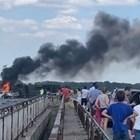 """Пуснаха движението в активната лента при катастрофата с тир на """"Тракия"""""""