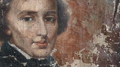 Портретът на Шопен СНИМКА: Arch.PRYW